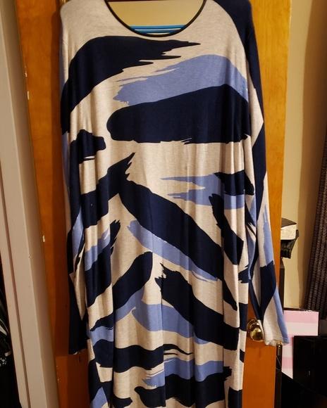 INC International Concepts Dresses & Skirts - Sweater print dress